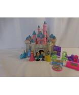 Disney Sleeping Beauty Castle PlaySet Princess Cinderella Bell Jasmine S... - $89.02