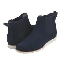 TIMBERLAND A1B1C LAKEVILLE CHELSEA WOMEN'S NAVY SUEDE lightweight BOOTS  - $102.31 CAD
