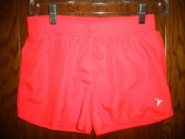 Old Navy Active Size Large 10/12 Elastic Coral Girls Shorts - $9.90