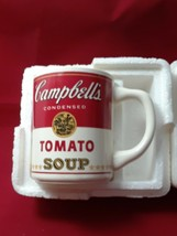 Collectible Campbell's Tomato Soup Mug Cup 8 oz in The Original Styrofoam Mailer image 2