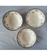 Keltcraft By Noritake Ireland Eastfair Set of 3 Bowls Cereal Home Kitche... - $25.94