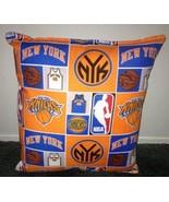Knicks Pillow New York Knicks Pillow NBA Handmade in USA - $9.99
