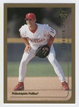 1999 Topps Traded #T44 Pat Burrell (RC - Rookie Card) [Misc.] - $0.79