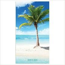 2020-2021 Tropical Beaches 2-Year Small Pocket Planner Calendar - $12.34