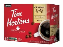 Tim Horton's Single Serve Coffee Cups, Original Blend, 24 Count - $29.60