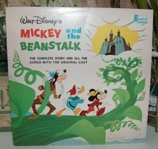 Walt Disney's Mickey and the Beanstalk LP Record - $12.00