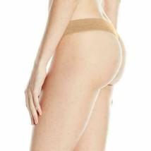 B.tempt'd by Wacoal Women's b. Splendid Thong Panty Au Natural Size Medium image 2