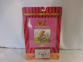 Mickey's Variety Series The Little Lost Elephant Talking Book + Tape Sea... - $48.01