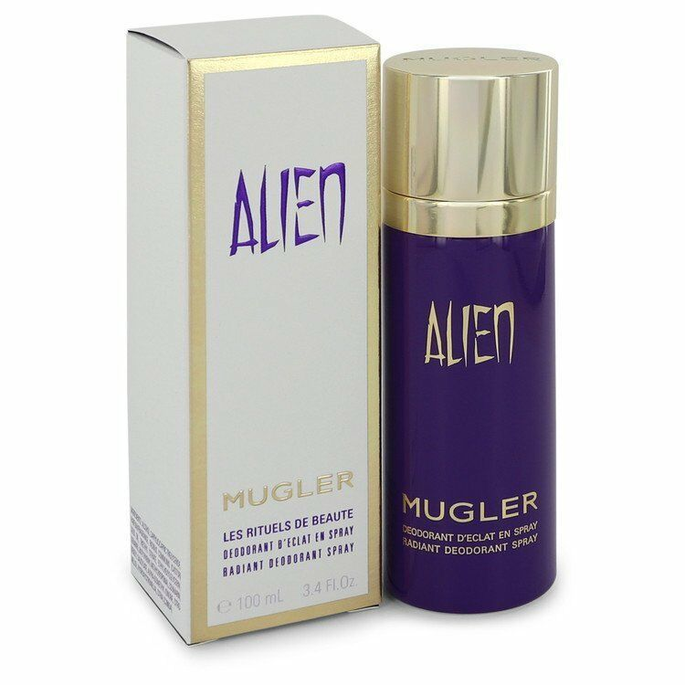 Alien Perfume by Thierry Mugler 3.4 oz Deodorant Spray 100% Authentic Product