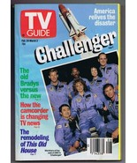 ORIGINAL Vintage TV Guide February 24, 1990 No Label Challenger ABC - $18.55