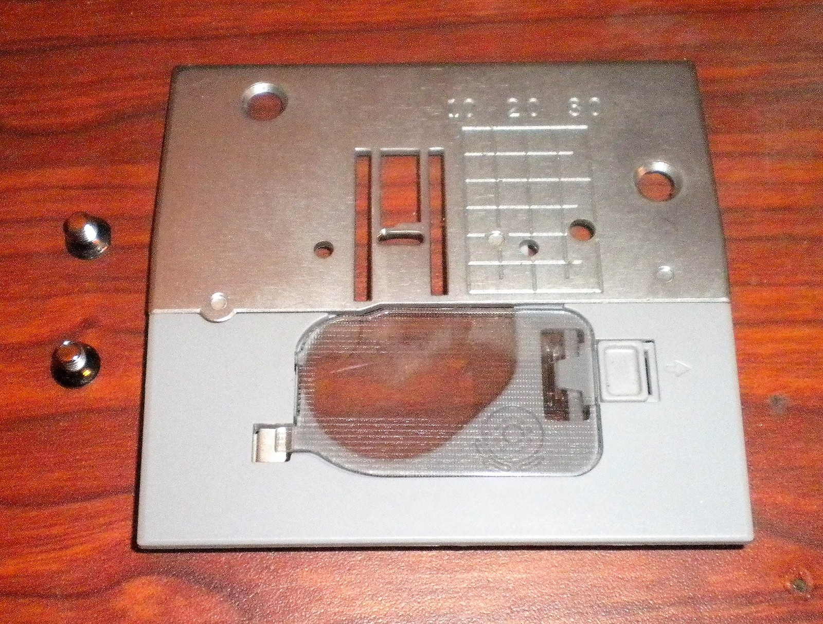 Primary image for Brother Free Arm XR52 Needle Plate #XA8715051 w/Mounting Screws & Cover