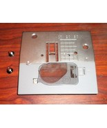 Brother Free Arm XR52 Needle Plate #XA8715051 w/Mounting Screws & Cover - $15.00