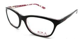 Oakley Eyeglasses Frames OX1091-0752 52-16 Polished Black Taunt Breast Cancer - $107.80