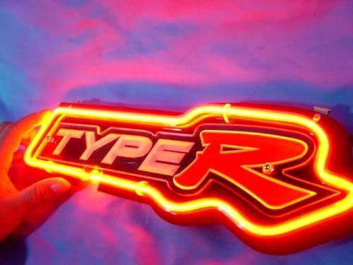 "Honda Type R Civic Auto Neon Light Sign 10"" x 5"""