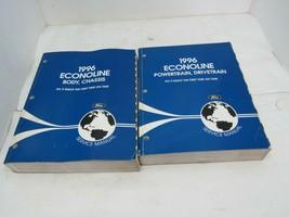 1996 Ford Econoline Body Chassis Powertrain Drivetrain Service Manuals - $29.69