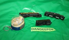 5 Piece Lionel Hallmark Christmas Train Ornaments 1998-2001 Pennsylvania Norfolk - $21.77