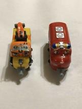 Tomy Chuggington Wilson E1315LKV00 Skylar K0415LKV00 Train Figures - $15.88