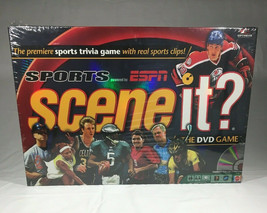 Scene It  Sports powered by ESPN 2005 trivia DVD game  Sealed - $10.80