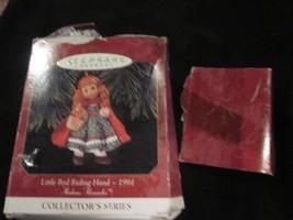 HALLMARK KEEPSAKE ORNAMENT1997 MADAME ALEXANDER LITTLE RED RIDING HOOD USED - $9.99