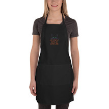At Least My Cat Loves Me Embroidered Apron - $34.99