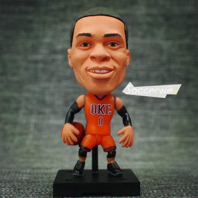 Soccerwe NBA Super Star Player Lovely Action Figure Basketball Model Toys Kids S