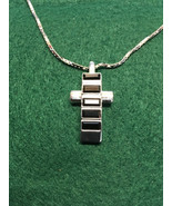 Swarovski Rhodium Plated Cross Pendant Mother Jewelry - $80.00