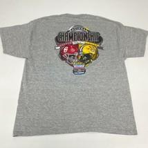 National Championship Sooners x Tigers T Shirt Men's XL Short Sleeve Gray Casual - £13.16 GBP
