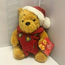 2002 Disney Store Exclusive Holiday Pooh with Magical Lights and Music P... - $99.99