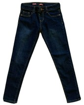 Arizona Jeans Co.Jegging Bleu Foncé Lavage Taille Réglable Fille Jean - Taille 8 - $11.83