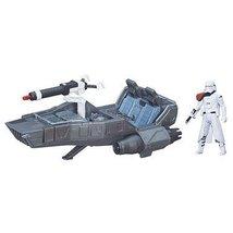 First Order Snowspeeder Snowtrooper - Star Wars Force Awakens Vehicle Ac... - $28.99