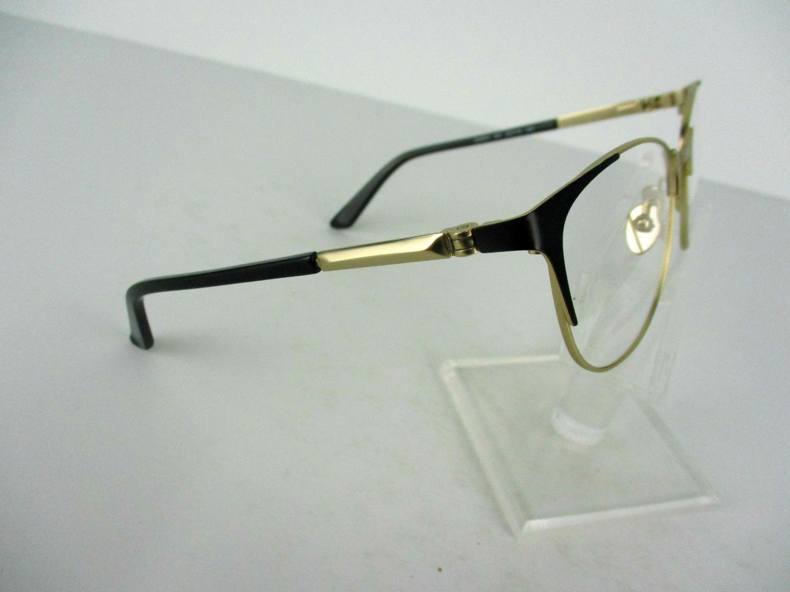 Calvin Klein Ck 8041 (001) Black / Gold 53 X 16 135 mm Eyeglass Frame