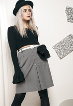 90s vintage pleated skirt - $34.36