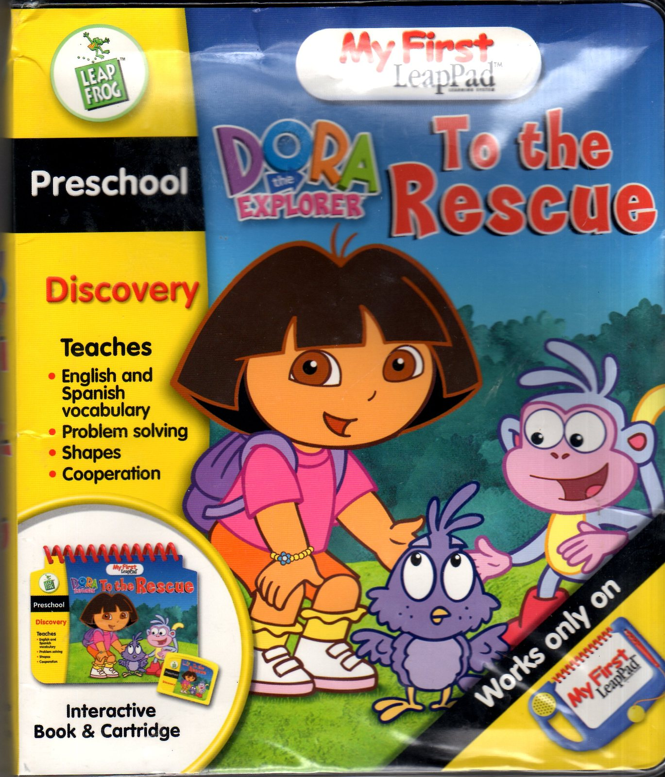 LeapFrog - My First LeapPad -Dora The Explorer To The Rescue