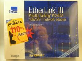 3Com Etherlink III LAN PC Card 10base-t PCMCIA 3c589b-tp Network Adapter - $45.00