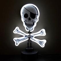 """Skull and Crossbones Handmade Neon Sculpture 9""""x9"""" - $75.00"""