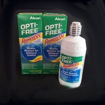 Opti Free Replenish Enhanced Comfort Disinfecting Contact Lense Solution... - $22.57+