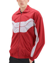 Men's Casual Running Working Out Jogging Gym Fitness Zipper Track Jacket image 5