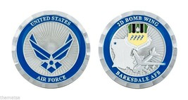 """BARKSDALE AFB AIR FORCE BASE 2D BOMB WING 1.75"""" CHALLENGE COIN - $16.24"""