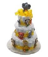 Noah's Ark - Jungle Animals Baby Shower Diaper Cake Kit for a 3 tier cake - $24.74