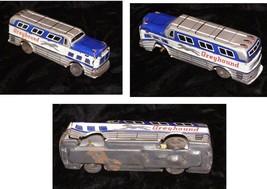 Greyhound Bus Vintage Tin Toy - $24.99