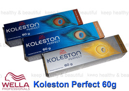 Wella Koleston perfect permanent creme Hair Colour 60g x 6  registered post - $41.90