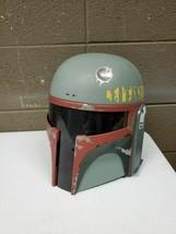 2009 Hasbro Bobba Fett Helmet Electronic Talking Cosplay Star Wars Costu... - $46.74