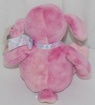 GANZ HE9835 Lambie 11 Inch Pink Tie Dye  With A Snowflake Bow image 3