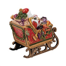 Fitz And Floyd - Regal Holiday - Santa In Sleig... - $42.08