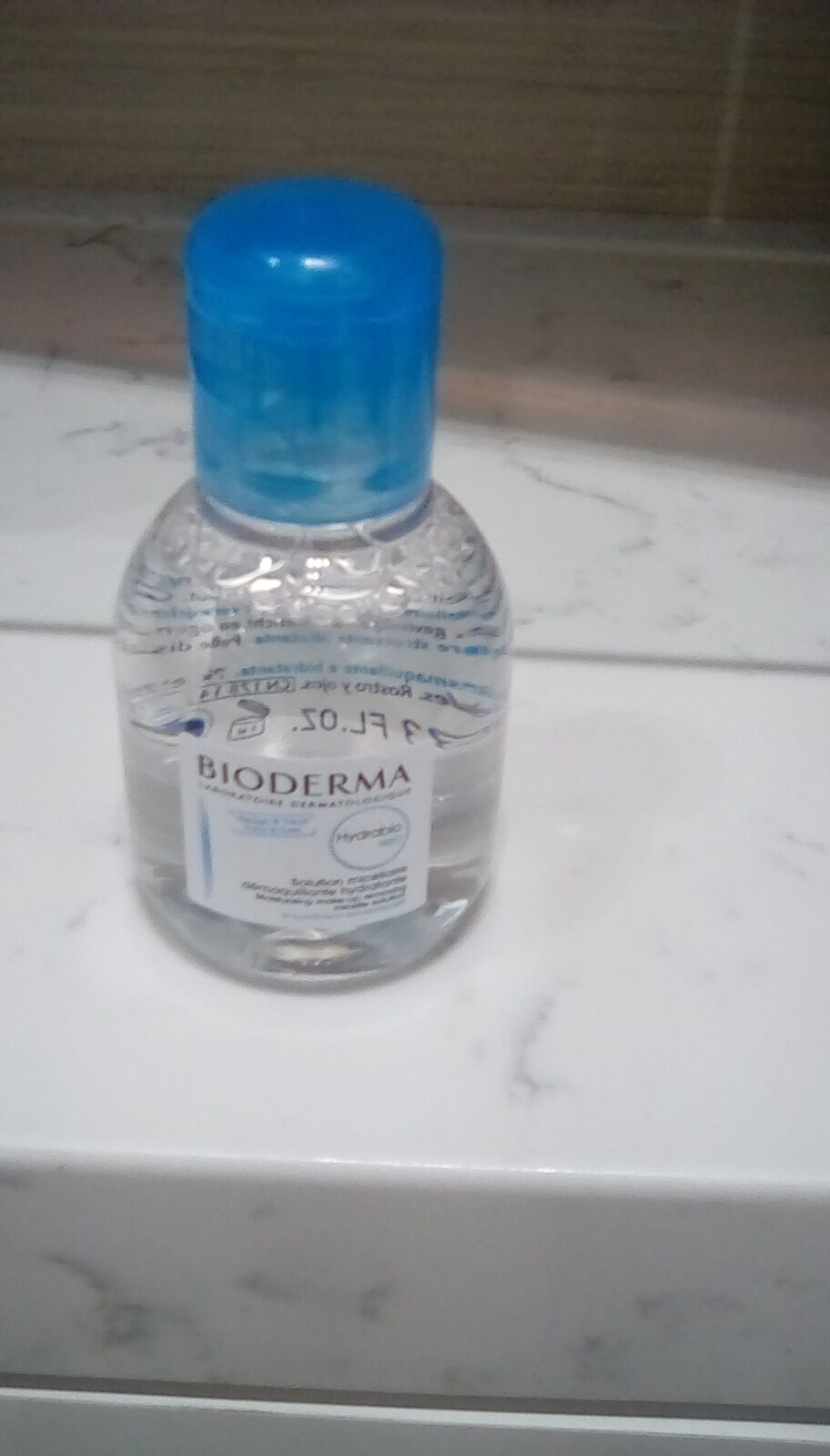 Primary image for BioDerma Hydrabio H2O Moisturizing Make-Up Removing Micelle Solution 3.33oz