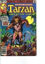 Vintage Comic Book -- Edgar Rice Burroughs' TARZAN, No. 13  (June 1978) - $3.50