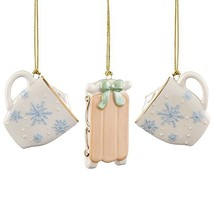 Lenox ~ Winter Fun 3 Piece Ornament Set - $29.99