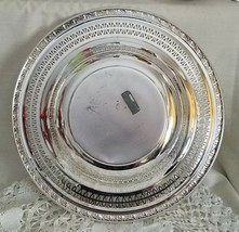 Vintage Wm Rogers Silver MFG Co. Gadroon Rose 2935 Silver Plate Serving ... - $9.90