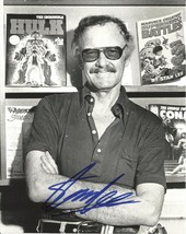 Stan Lee Signed Poster Photo 8X10 Rp Autographed Marvel Comics - $19.99