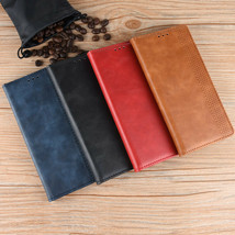 Samsung S21 S20 Ultra + S20FE S10 S10E S9 S8 Leather Wallet Magnetic flip cover - $55.11